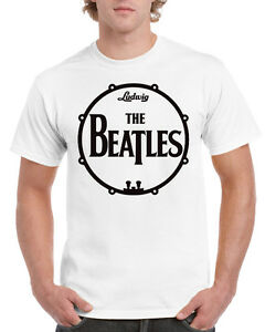 T-SHIRT BEATLES, ROLLING STONES, DOORS, THE WHO