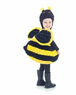 UNDERWRAPS BELLY BABIES BEE KID'S HALLOWEEN COSTUME ASSORTED SIZES  NEW  ](Bee Costume Baby)