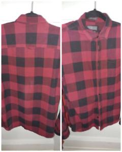 Jack & Jones mens flannel check shirt