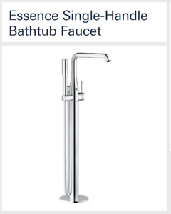 For Sale.  New bath tub floor mounted faucet still in box.