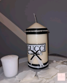 Gucci Medium Pillar Candle