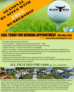 Black Bull Golf Resort has RV sites available this season
