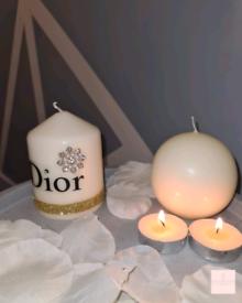 Dior Small Pillar Candle