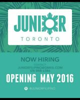 Hiring Chef and Sous Chef