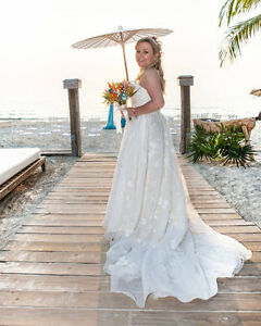 Designer Wedding Dress 75% off