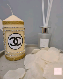 Chanel Medium Pillar Candle