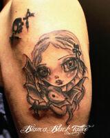 Pro Tattoo artist $60 hour \ Tatouage Professionnel $60 heure