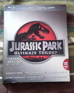 Jurassic Park Trilogy on Blu-Ray