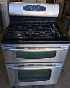 Maytag Gas Double Oven, 1 year warranty