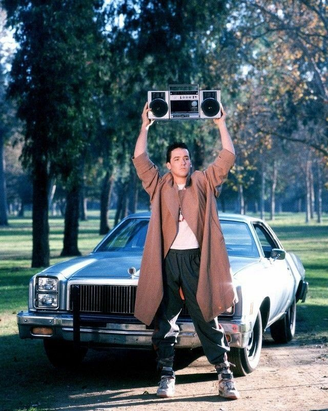 John Cusack In Say Anything 1989  8x10 Photo Print