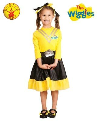 YELLOW EMMA WIGGLE Deluxe Dress Up Character Costume Size1-3Toddler -THE WIGGLES - 1 Halloween Costume 2017