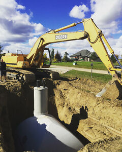 Septic Tank and Water Cistern Installation - Liscenced Installer