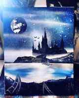 Spray Paint Art- by Nathan Salmon