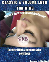 EYELASH EXTENSION TRAINING - Learn it All - Classic and Volume