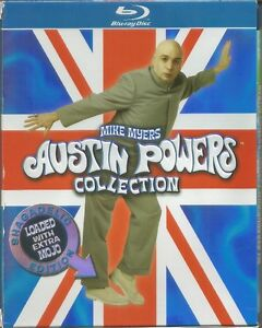 AUSTIN POWERS BLU-RAY COLLECTION ALL 3 MOVIES BOX SET $12
