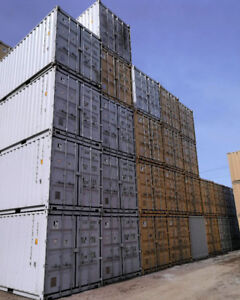 NEW 20' STD SHIPPING CONTAINERS