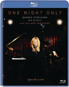 Barbra Streisand-One Night Only-Sealed Blu-Ray