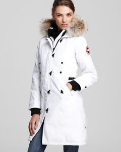 Trade Canada Goose Kensington Parka White Large for XL