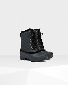 Hunter Shearling/Leather lined boot