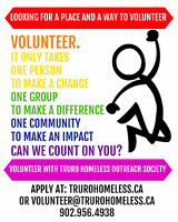 Truro Homeless Outreach Society Volunteers