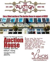Live & Silent auction at The Auction House in support of HCRS