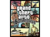 GTA San Andreas PC cracked