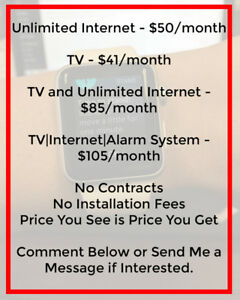 Discounted TV|Internet|Home Phone|Alarm Systems