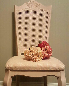 Pink shabby chic chair