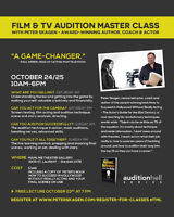 ACTORS LEARN YOUR SELL!!! Film & TV Audition Master Class