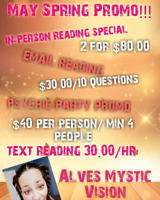 Psychic medium Provo for May