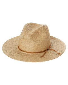 Barely used Brixton Sandoz straw hat for sale. $25.