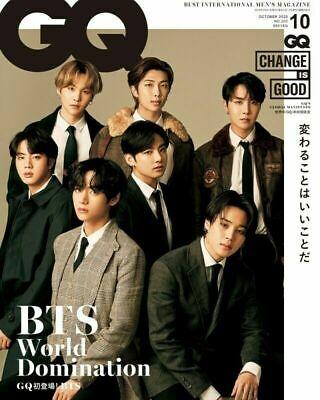 BTS GQ JAPAN 2020 Whole Magazine Limited Cover Photo Interview