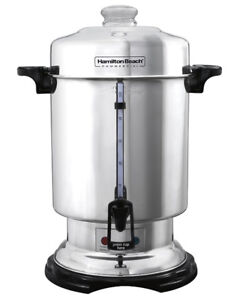 New -  Hamilton Beach Stainless Steel Commercial Coffee Urn