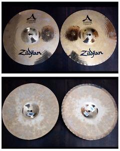 "14"" Zildjian A Custom Mastersound Hi Hats"
