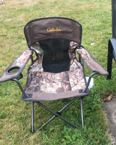 Kids camping chair from cabellas