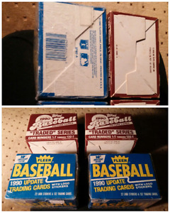 1990 baseball Cards factory sealed and mint 4 for $10