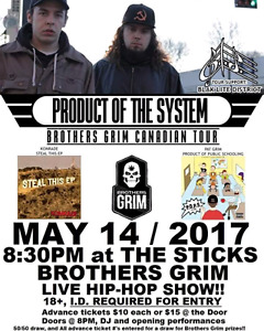 Tickets for Brothers Grim live hip-hop show @ The Sticks