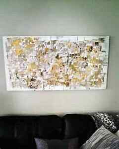 "Original locally painted large abstract art ""Fall"" Kitchener / Waterloo Kitchener Area image 1"