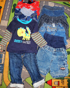 Lot of 9 items - Baby BOY clothes - 12 months old