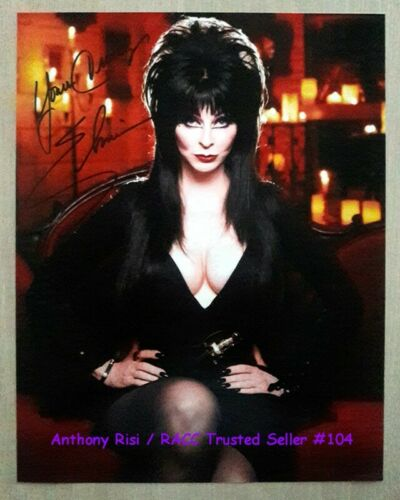 ELVIRA.. Mistress Of The Dark (11x14) SIGNED