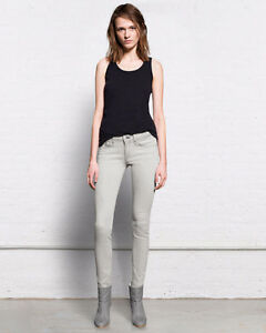 "RAG & BONE ""The Skinny"" Jeans, Faded Grey/White, Wedge, Size 27 London Ontario image 1"