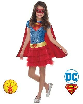 RD 510042 Girls Costume Fancy Licensed DC Comics Supergirl Superwoman Hero Tutu - Superwoman Tutu