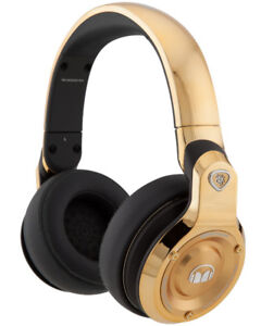 RARE Monster 24k Gold Professional Dj-style Headphones