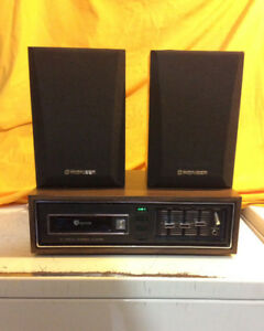 BAYCREST STEREO AMP WITH 8-TRACK PLAYER FOR SALE!