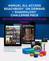 Annual all access beachbody on demand challange pack