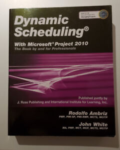 Textbook Dynamic Scheduling with Microsoft Project 2010