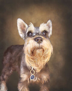 Custom Pet Portraits made to order by local artist