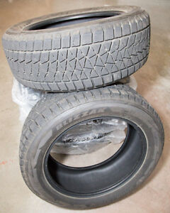 Bridgestone Blizzak Snow Tires - 19 inch - Set of 4
