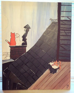 Aristocats Painting