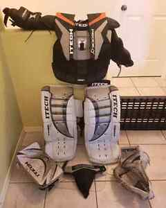 Youth goalie gear for sale